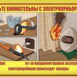 Будьте внимательны с электроприборами