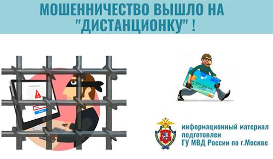 МВД РФ: Виды дистанционного мошенничества